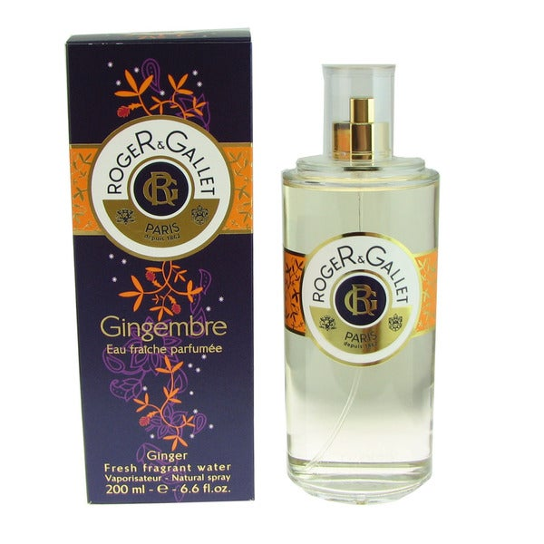 Roger & Gallet Gingembre Eau Fraiche Perfumee 6.6-ounce Spray