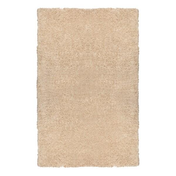 Motif Designs Soft Plush Cream Shag Rug (8 x 10)
