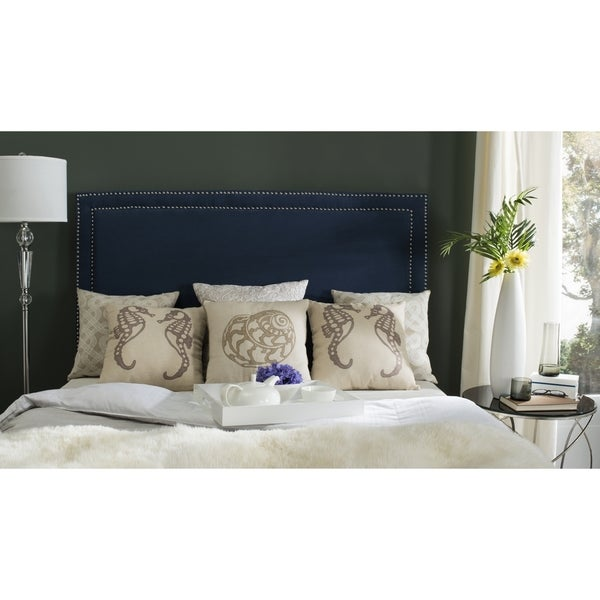 Safavieh Cory Navy Headboard (Queen)