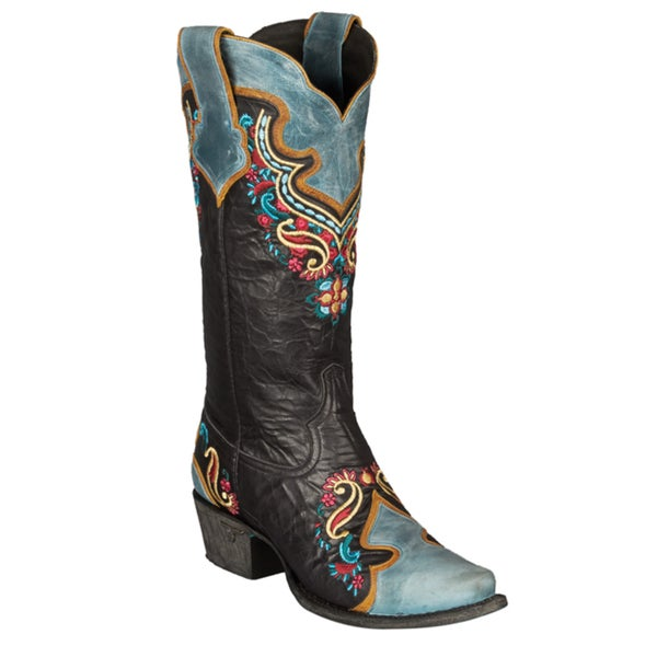 Lane Boots Women's 'Nicole' Leather Cowboy Boot
