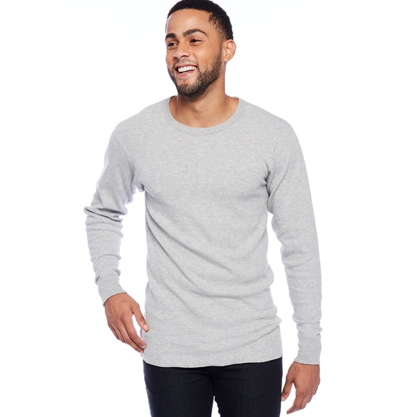 Cotton Thermal Long Sleeve Crew 16967406
