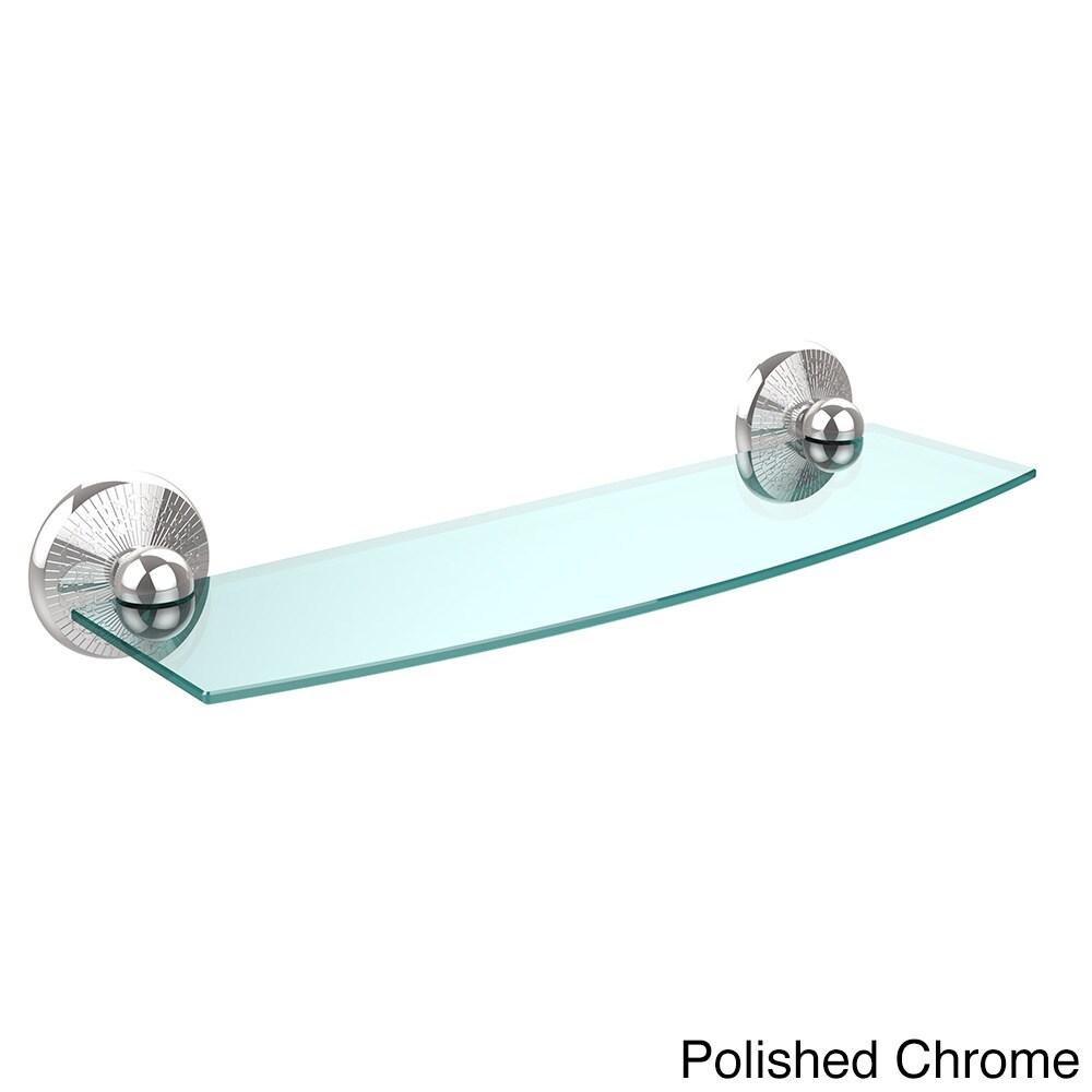 Allied Brass Monte Carlo Collection 18-inch Glass Shelf