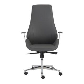 Bergen Grey/ Aluminum High Back Office Chair