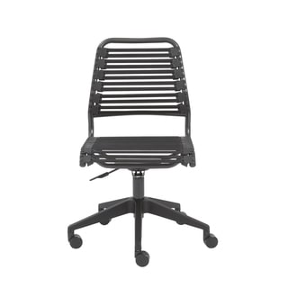 Baba RTA Black/ Graphite Flat Low Back Office Chair