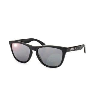 oakley symbol qyvy  Oakley OO9013 Frogskins Men's Rectangular Sunglasses