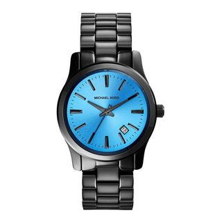Michael Kors Women's MK6102 'Blair' Black Stainless Steel Watch