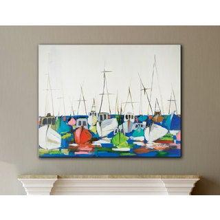 Melissa Lyons's Marina, Gallery Wrapped Canvas