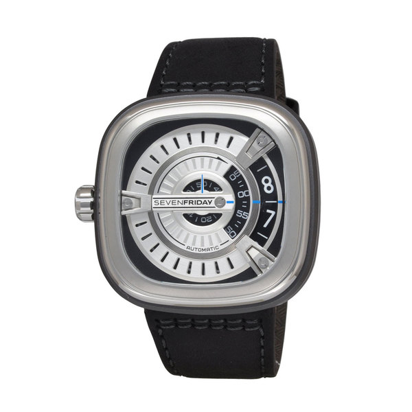 SevenFriday Men's M1-1 M-Series Silver Watch