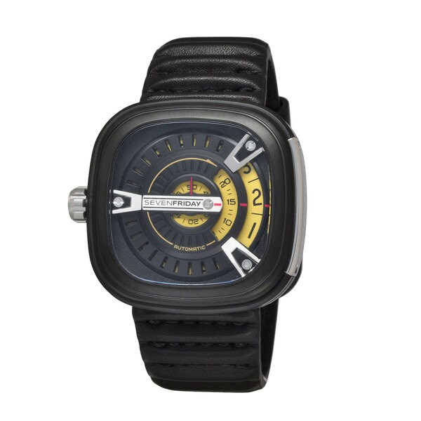 SevenFriday Men's M2-1 M-Series Black Watch