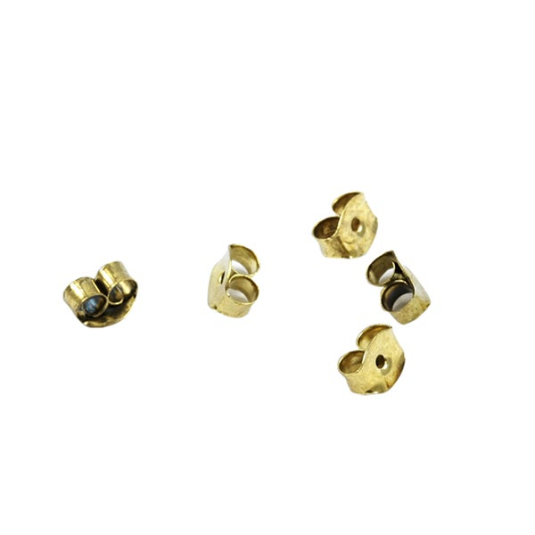 Goldtone Butterfly Earring Backings