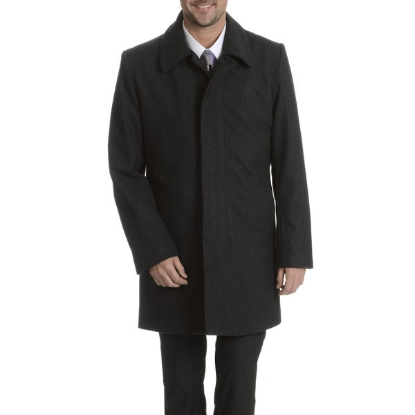 Steve Harvey Men's Black Coat
