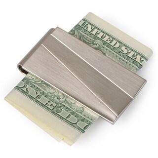 Kenneth Cole Men's Brushed Metal Money Clip