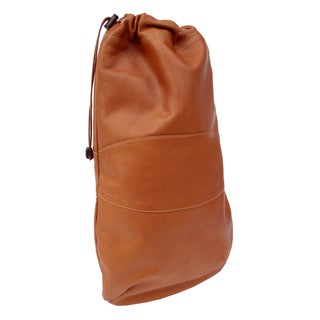 Piel Leather Drawstring Shoe Bag