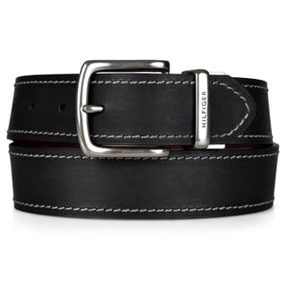 Tommy Hilfiger Men's Reversible Handcrafted Belt