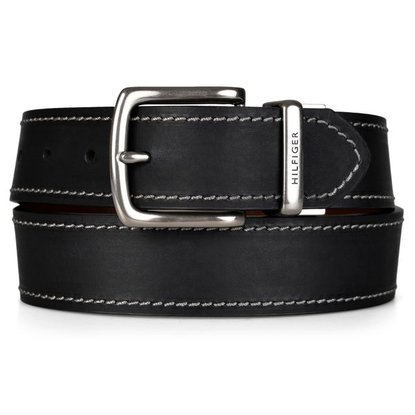 Tommy Hilfiger Men's Reversible Handcrafted Belt