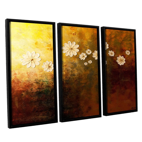 Carmen Guedez's Happily Ever After, 3 Piece Floater Framed Canvas Set