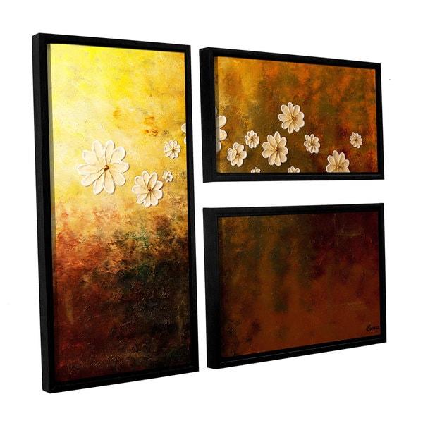 Carmen Guedez's Happily Ever After, 3 Piece Floater Framed Canvas Flag Set
