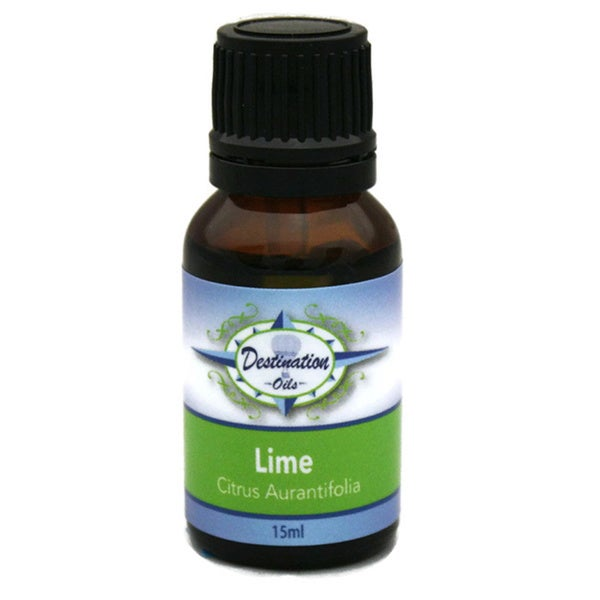 Destination Oils Therapeutic Quality 15ml Lime (Citrus Aurantifolia) Essential Oil