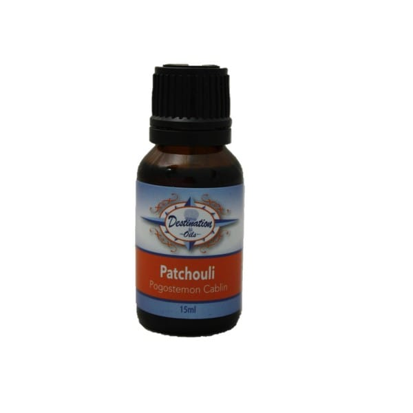 Destination Oils Therapeutic Quality 15ml Patchouli (Pogostemon Cablin) Essential Oil
