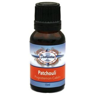 Destination Oils Therapeutic Quality 15ml Patchouli (Pogostemon Cablin) Essential Oil