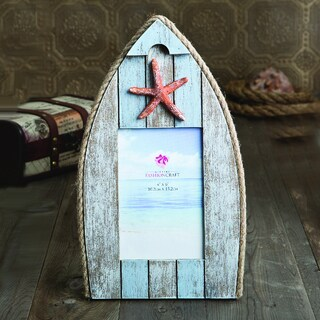 Fashioncraft Boat-Shaped Photo Frame