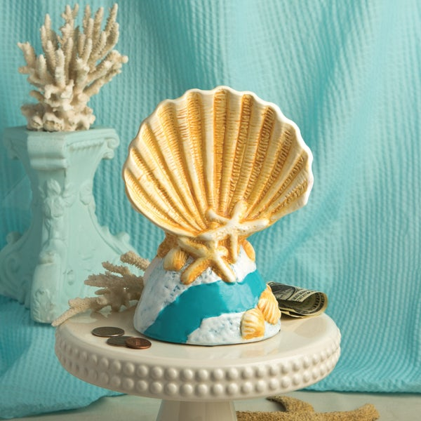 Fashioncraft Beach Shell Savings Bank