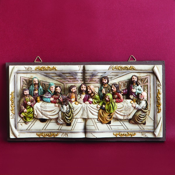 Fashioncraft Last Supper Wall Plaque