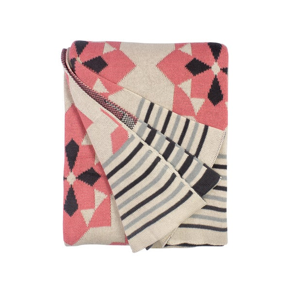 Ellesmere Pink Throw (India)