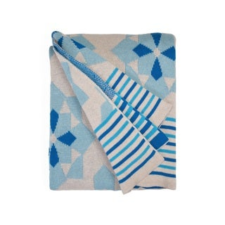 Ellesmere Blue Throw (India)