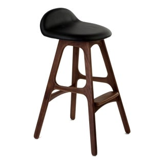 Erik Buch OD Mobler Inspired Teak Counter Stool