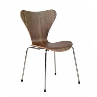 Cherner Inspired Side Chair Metal Legs