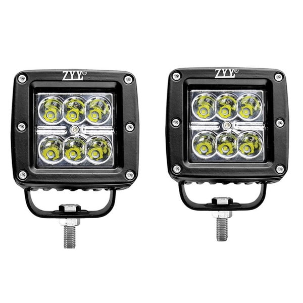 18W 3-inch SPOT LED Light Work Bar Lamp (Pair of 2)