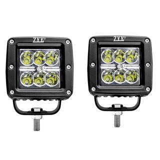 18W 3-inch SPOT LED Light Work Bar Lamp (Pair of 2)