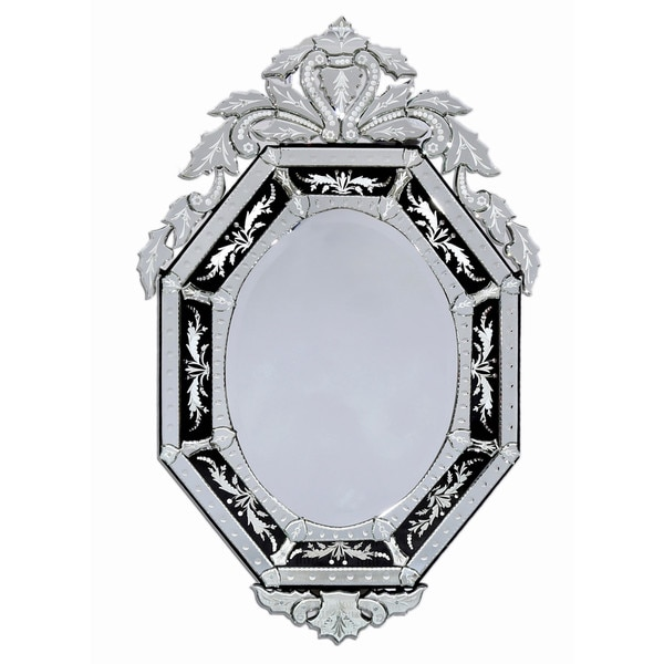 ABC Accents Natasha Black Venetian Wall Mirror