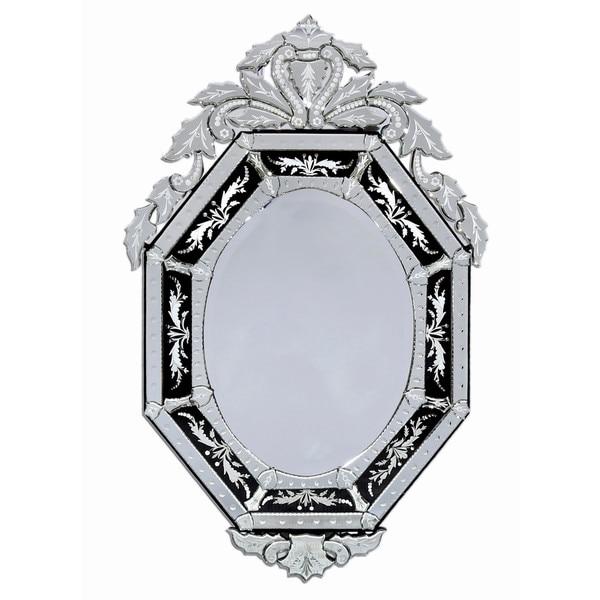 ABC Accents Natasha Black Venetian Wall Mirror