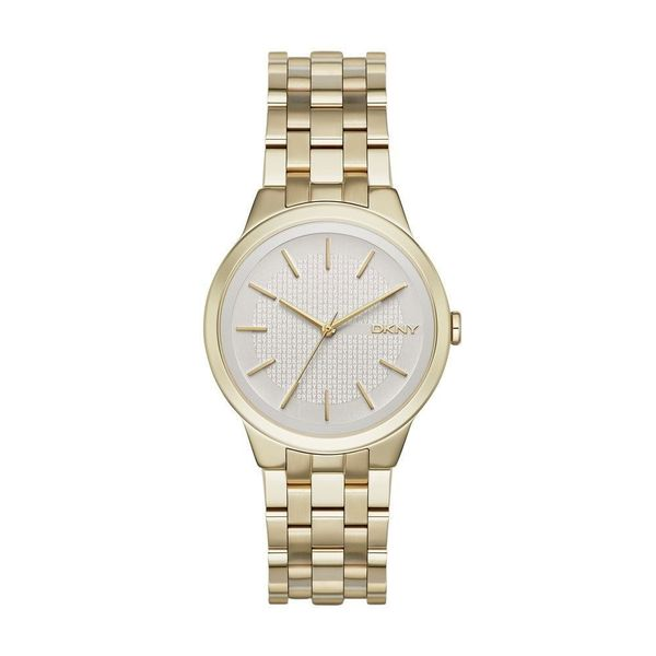 DKNY Women's NY2382 'Park Slope' Gold-Tone Stainless Steel Watch