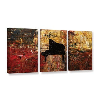 Carmen Guedez's The Grand Finale, 3 Piece Gallery Wrapped Canvas Set