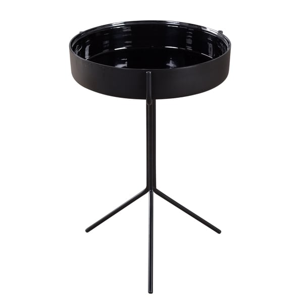 Double Black Bowl Table (India)