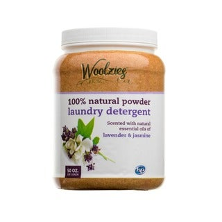 Woolzies 100-percent Natural Powder Laundry Detergent Scented with Lavender & Jasmine