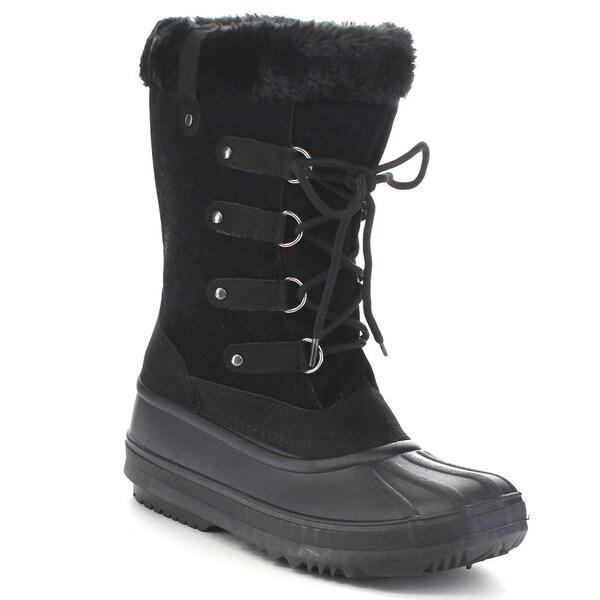 Blue Suede Shoes POLAR-15-H Women's Mid Calf Snow Boots
