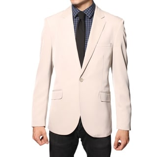 Ferrecci Men's 'Brice' Tan Slim Fit Blazer Jacket