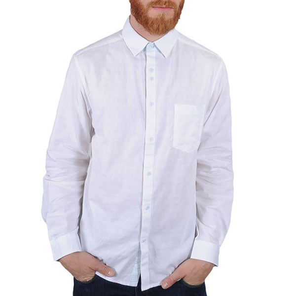 Lennon and McCartney Men's 'Blackbird' White Shirt
