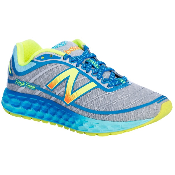 Women's Fresh Foam Boracay Blue/ Yellow Running Shoes