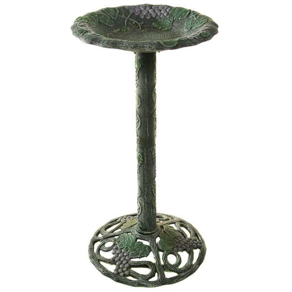 Premium Vineyard Bird Bath