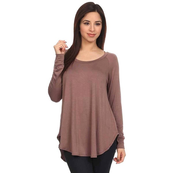Moa Women's Soft Knit Long-Sleeve Top