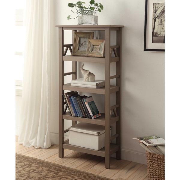 Oh! Home Elaine Bookcase - Grey