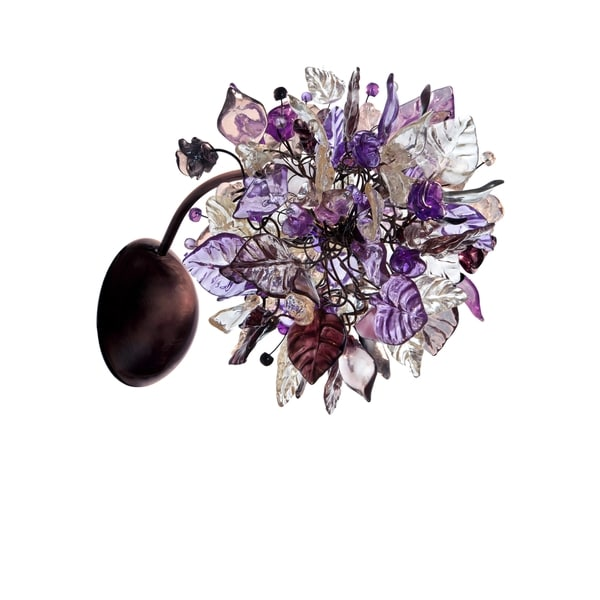 Violet Frost Wall Sconce