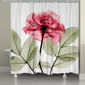 Laural Home X-Ray Rose Shower Curtain