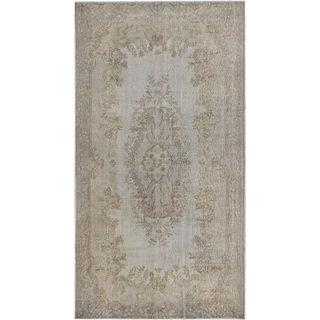 ecarpetgallery Color Transition Grey Wool Rug (4'8 x 8'9)