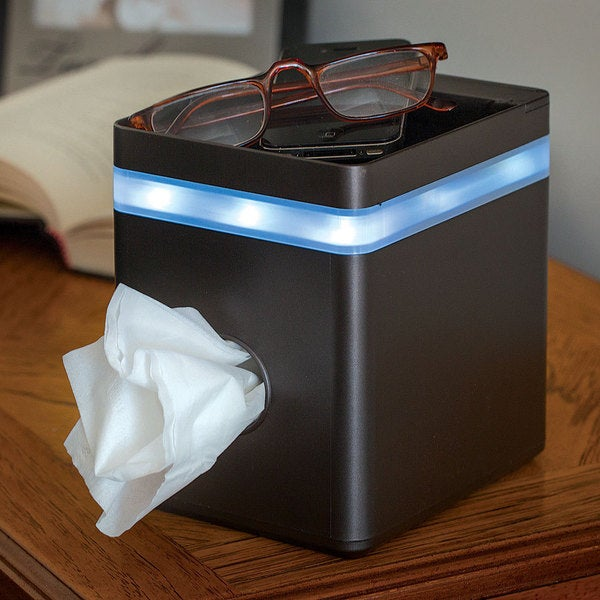 Lighted Tissue Box